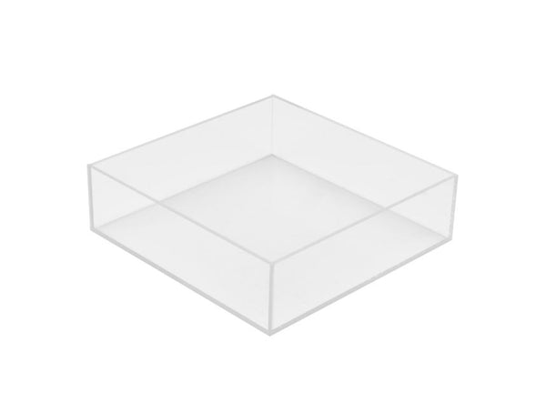 "24"" Square Acrylic Cake Stand"