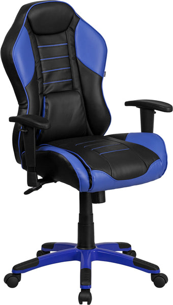 Executive Blue & Black Chair