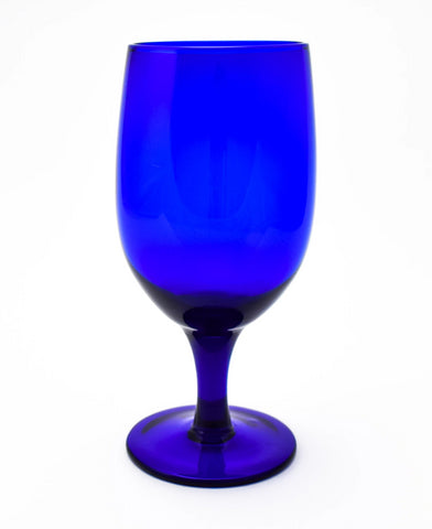 Gala Cobalt Goblet 15oz Glass
