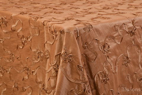 Copper Ribbon Taffeta