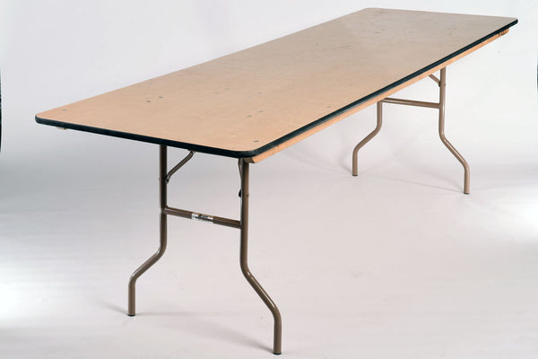 "8'x30"" Rectangular Table"