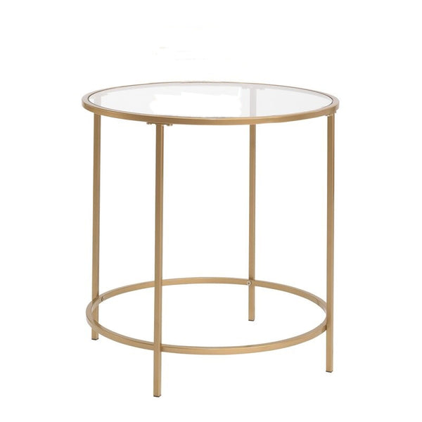 Gold Glam End Table
