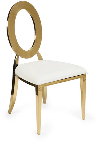 Oohlala! Gold Chair