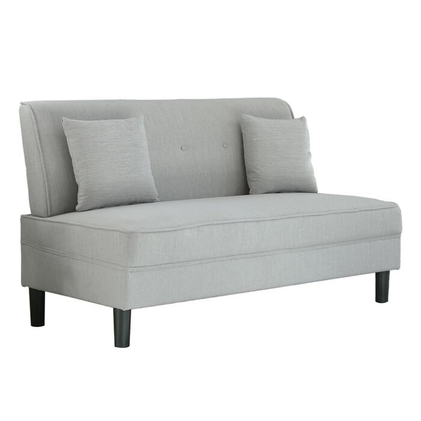Heather Gray Settee
