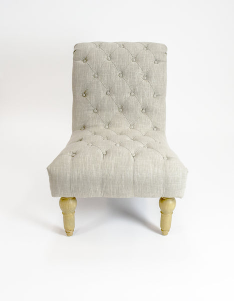 Empress Vintage Side Chair (Dove)