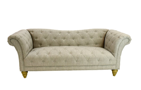 Empress Vintage Sofa (Dove)