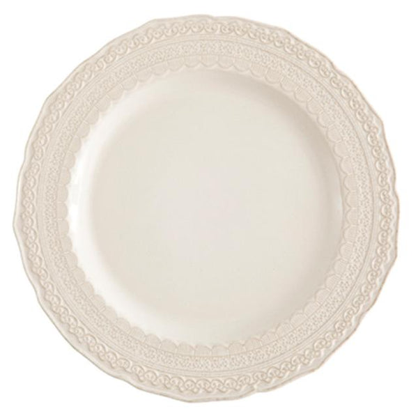 Siena Lace Ivory Charger