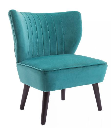 Carrie Teal Side Chair