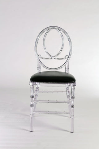 Phoenix Chair with Black Cushion