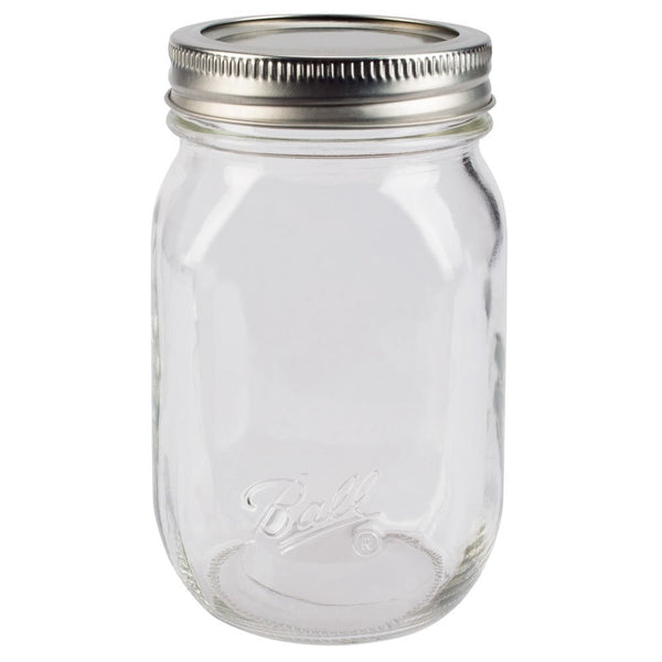 Mason Jar 12oz Glass