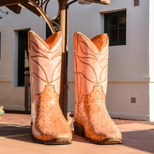 Giant Cowboy Boots