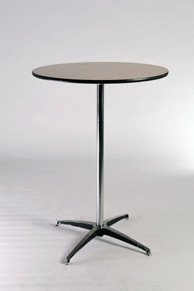 Stand-Up Round Cocktail Table