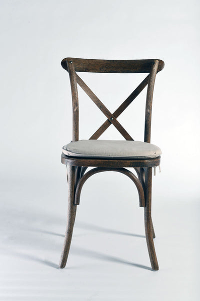 Antique X-Back Chair