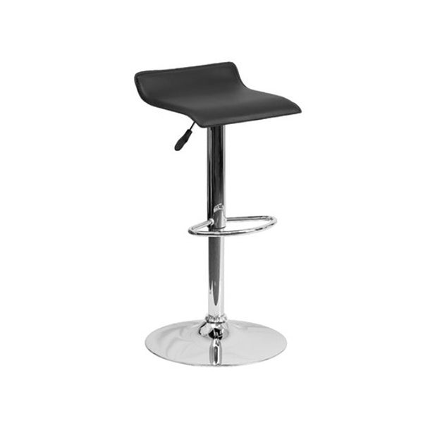 Scoop Black Barstool
