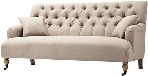 Button Tufted Sofa