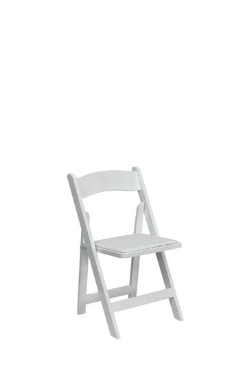 CHILDREN Folding White Chair