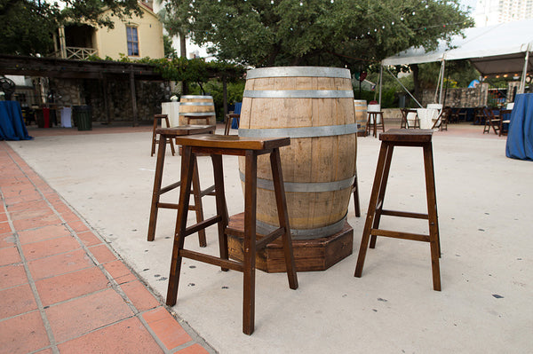 Barrel Cocktail Table