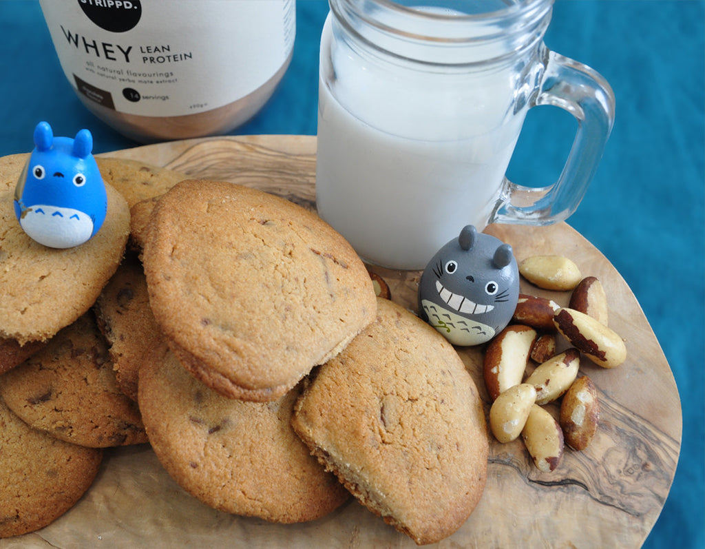 Chocolate Chips Whey Protein Cookies