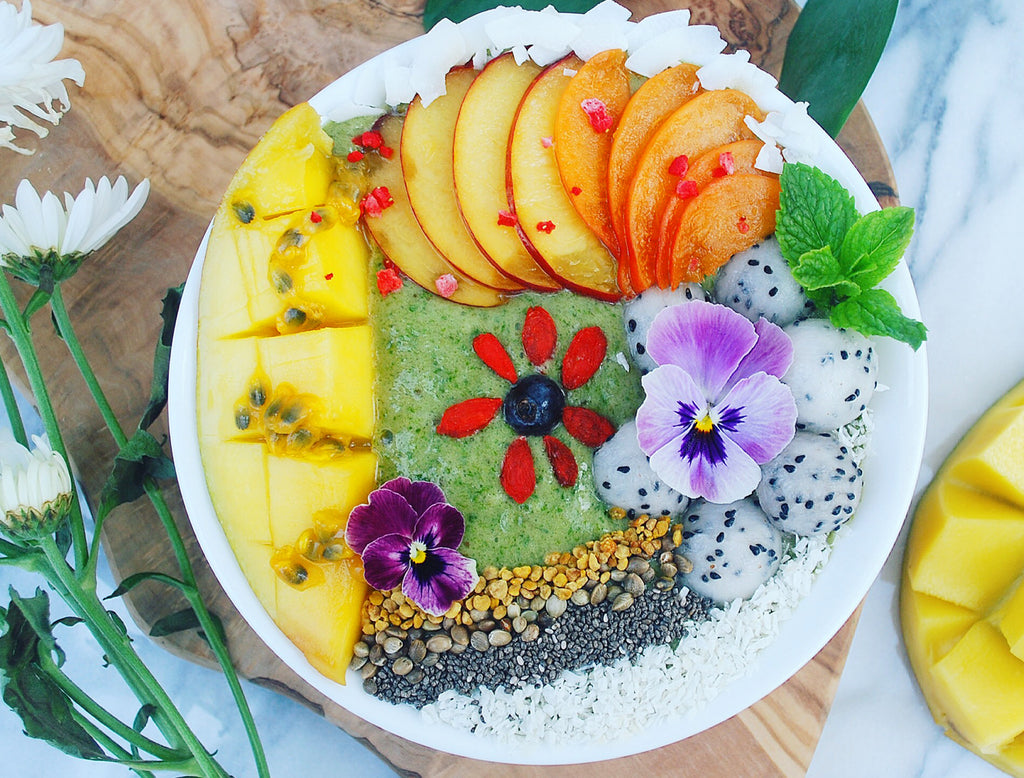 SUPERFOODS GREEN SMOOTHIE BOWL BY MAIKEN @maikenf
