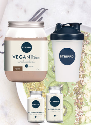 Open image in slideshow, VEGAN Lean Bundle - Chocolate