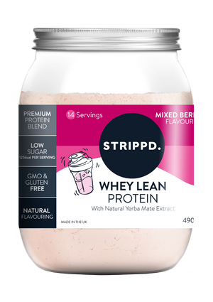 WHEY Lean Protein Powder - Mixed Berry