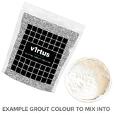 v1rtus Silver Glitter Grout Additive for Tiles Wall Floor Glass Mosaic Sparkle