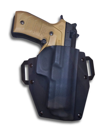 Kydex Holster for the Beretta 92 with the BC2 Grip and Rail System