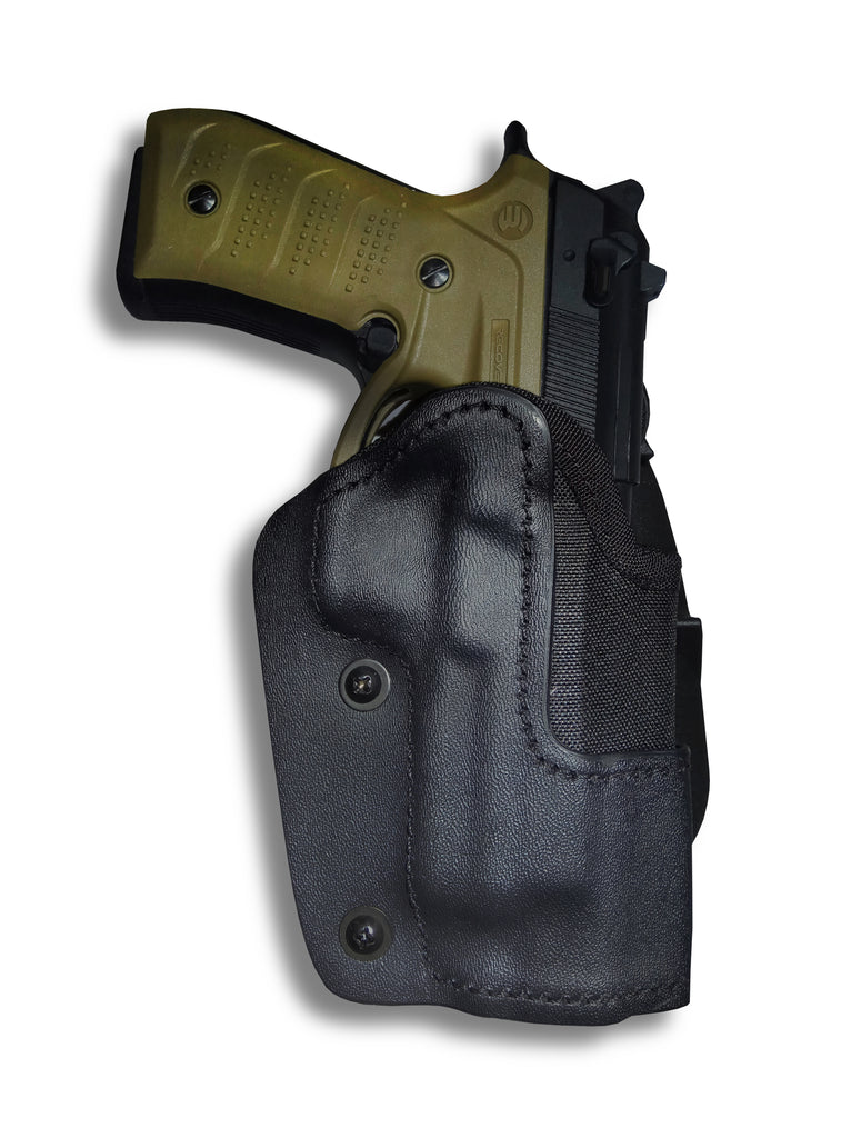 Frontline Open Top Kydex New Generation Paddle Holster for the Beretta 92 with the BC2 Grip and Rail System