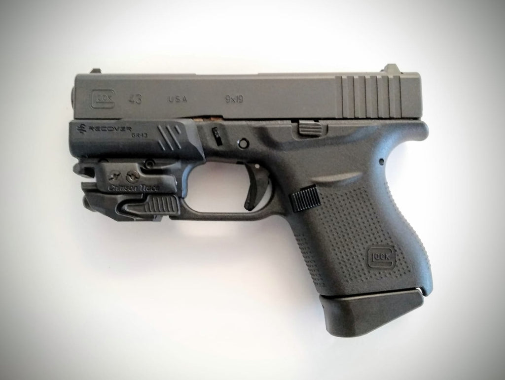 Gr43 Glock 43 43x And 48 Rail Adapter Recover Tactical