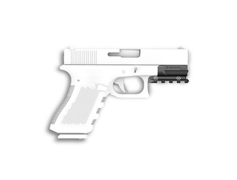 OR19 Glock 17 and 19 Gen 3-5 Picatinny Over Rail Adapter (not compatible with Gen 1 & 2)