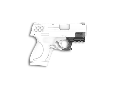 SHR9 Rail Adapter For The Smith and Wesson Shield