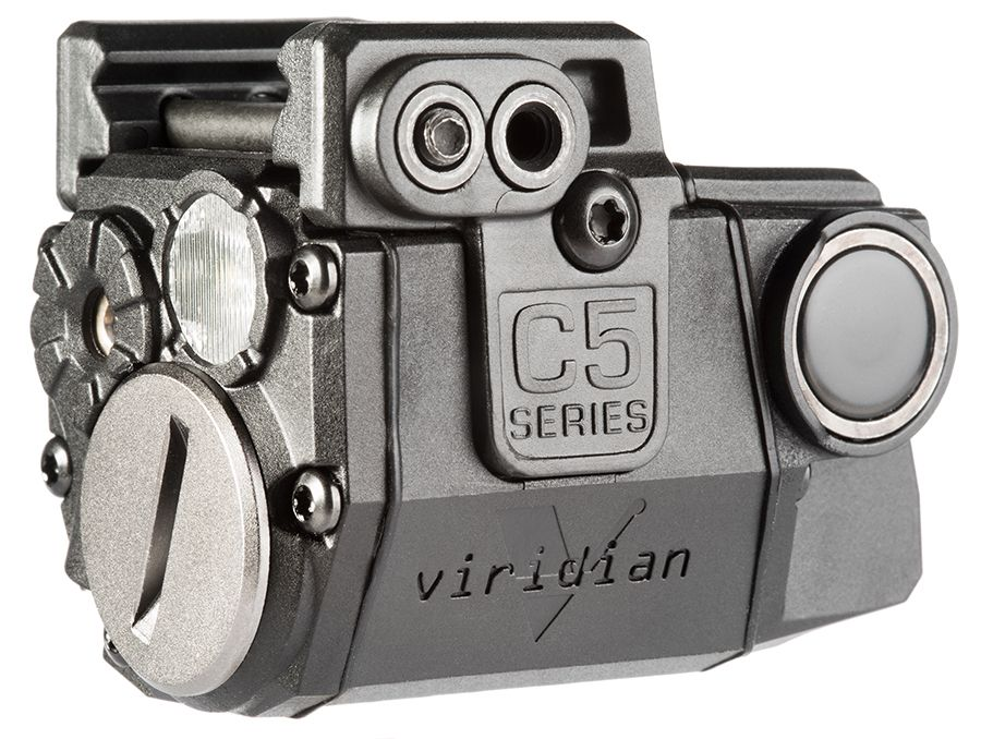 Viridian C5L Red Laser Sight with Tactical Light Compatible with all Recover Tactical Full-Sized and Compact Rails