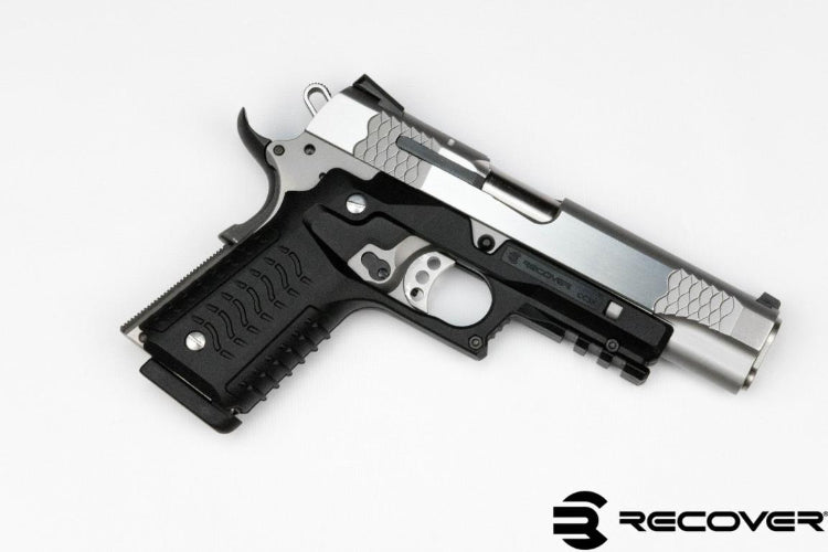1911 Grips CC3H Grip and Rail System 1911 Rail Adapter – ReCover ...