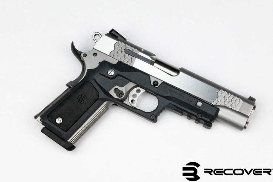 1911 Grips CC3P Grip and Rail Adapter with Grip Panels – ReCover ...