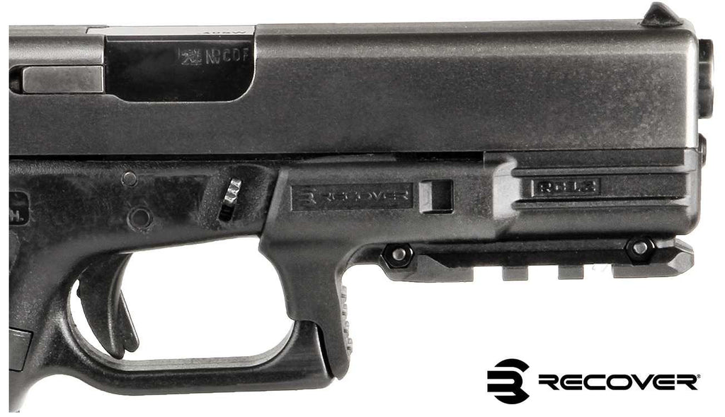 RC12 Rail for the Glock 17 & 22 Gen 1 & 2 - recover-tactical-new - 1