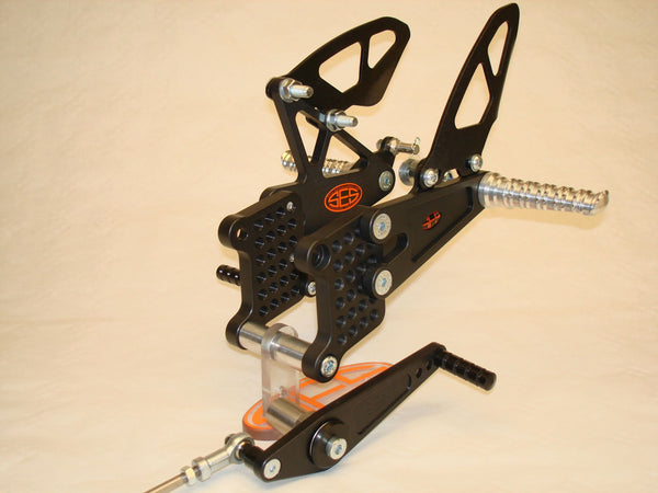 SES Rearsets Road + Race Rearsets