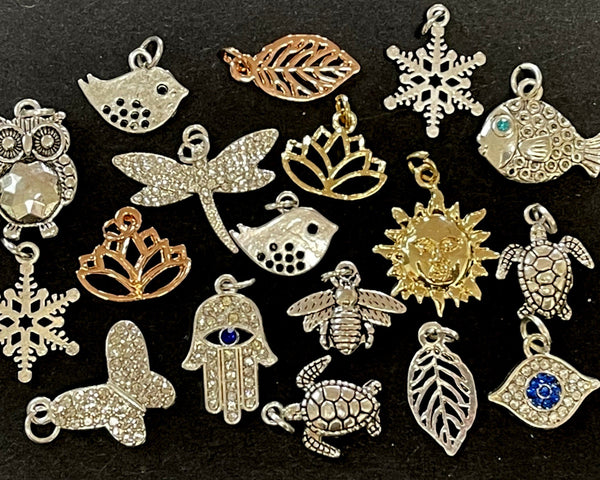 PENDANTS - CHARMS