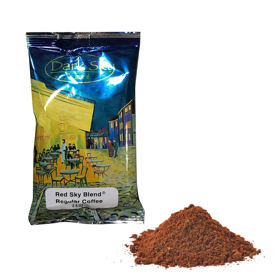 Red Sky Ground Coffee Pack-100ct-2.5-S&D Coffee & Tea