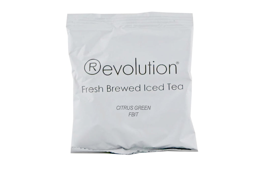 Revolution Citrus Green Iced Tea Filter Pack, 2oz 60ct-S&D Coffee & Tea