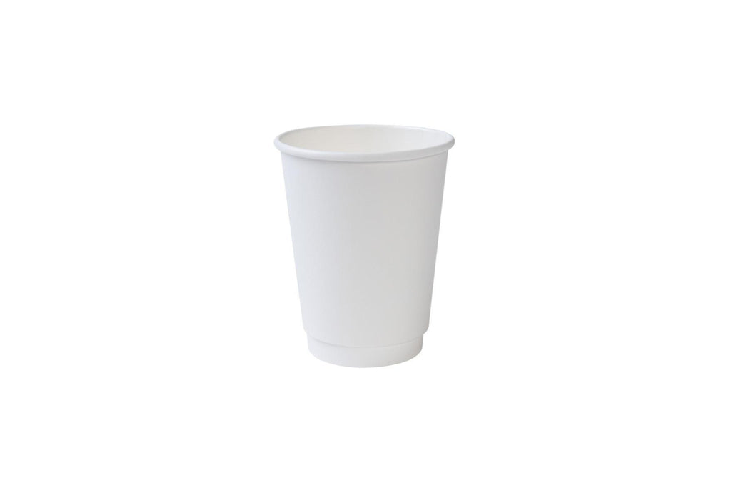 Double Walled Paper Cups, 12oz 600ct-S&D Coffee & Tea