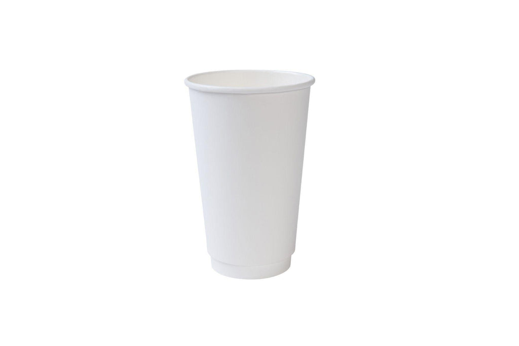 Double Walled Paper Cups, 16oz 600ct-S&D Coffee & Tea