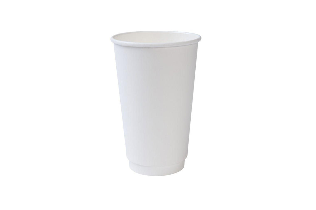 Double Walled Paper Cups, 20oz 600ct-S&D Coffee & Tea