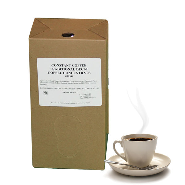 Decaf Traditional Constant Coffee, 64oz (.5 gallon) 2ct-S&D Coffee & Tea