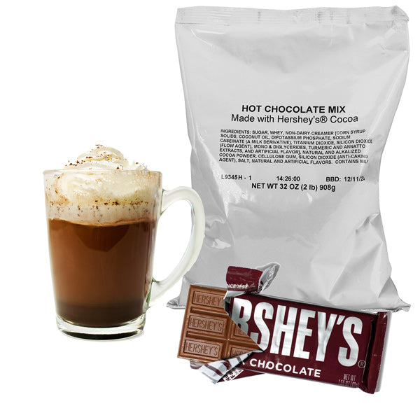 Hershey's Hot Chocolate Pack, 32oz (2lb) 6ct-Case (6ct)-S&D Coffee & Tea