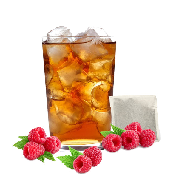 100% Rainforest Alliance Certified Raspberry Black Iced Tea Filter Pack-3oz-32ct-S&D Coffee & Tea