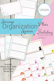 Storage Organization System Combo Package