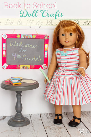 Doll Chalkboard Craft Kit