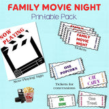 Family Fun - Movie Night Printable Pack