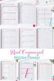 Real Organized Holiday Planner - Digital Printable