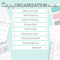 Home and Family Organization Bundle